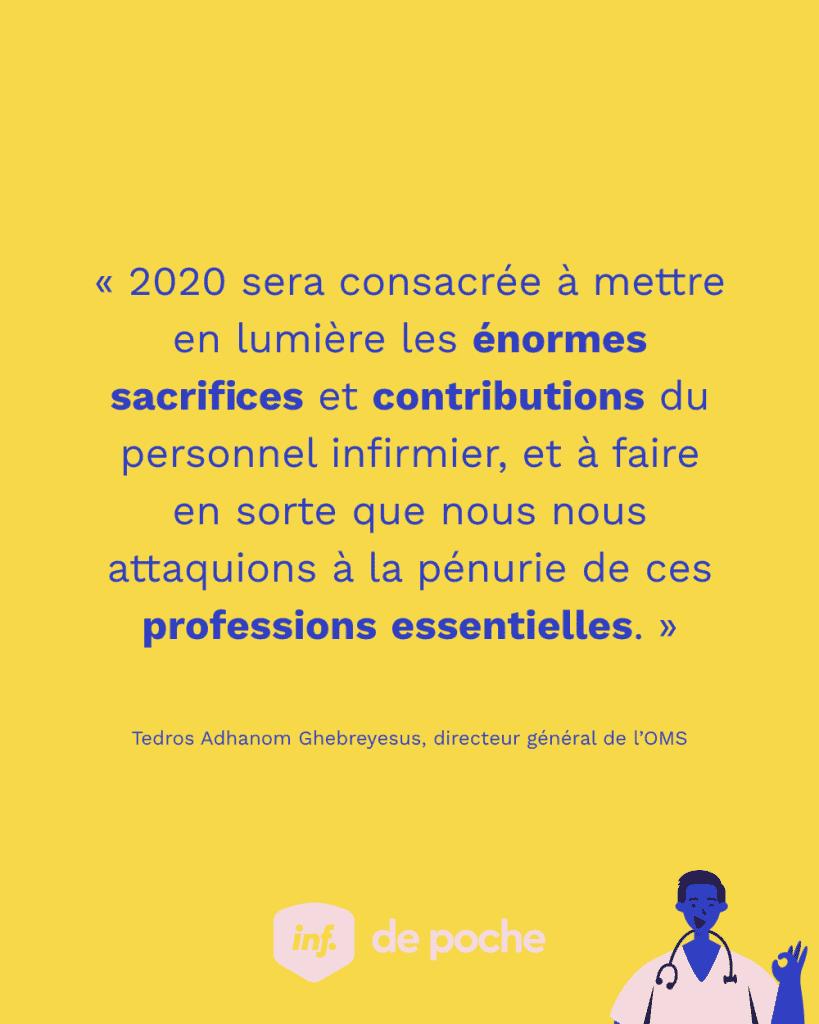 2020, l'année des infirmières et des infirmiers